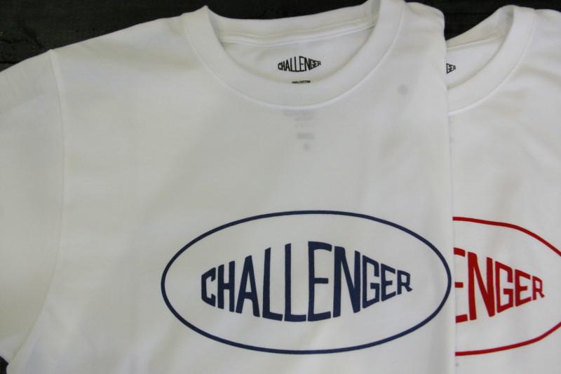 CHALLENGER OVAL LOGO TEE