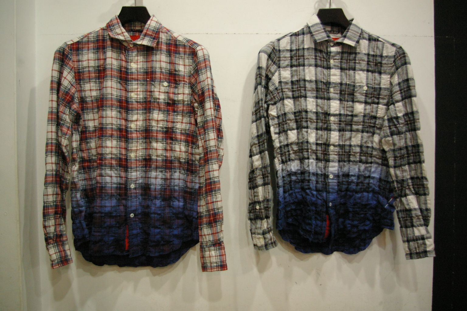 ARTYZ DANZOME CHECK SHIRT