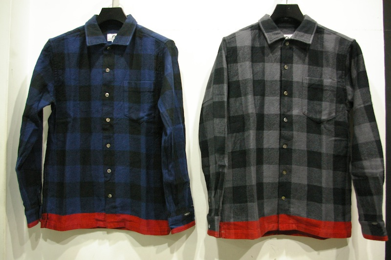 GOODENOUGH BUFFALO LINE FLANNEL BOX SHIRT
