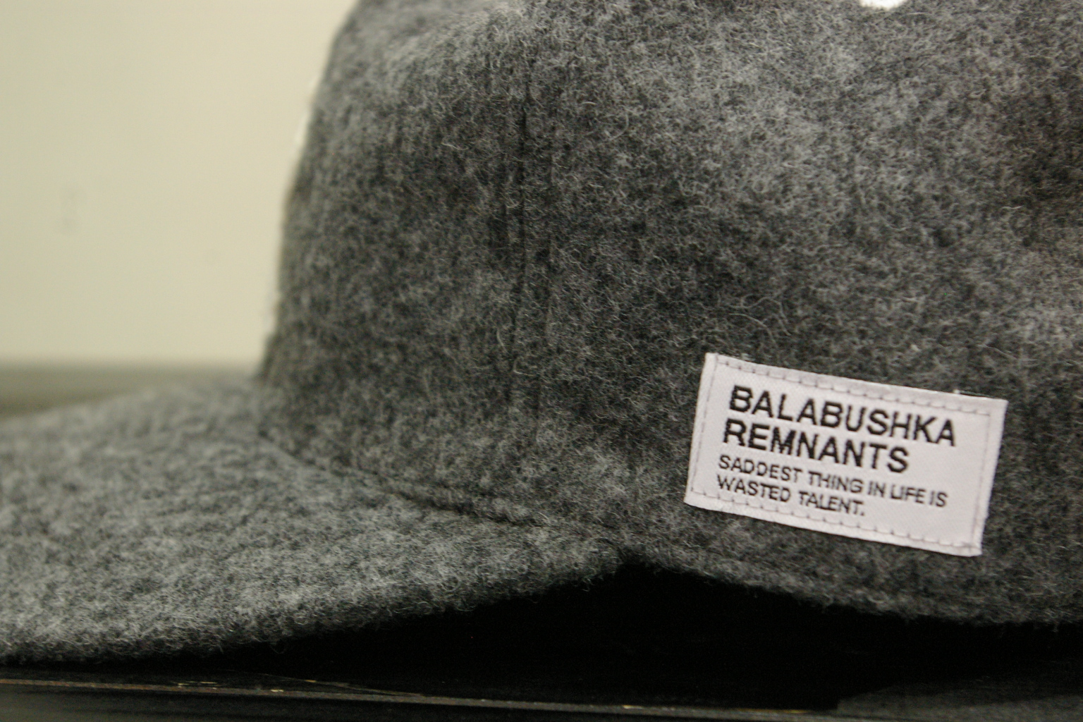 Blabushka WOOL BB CAP