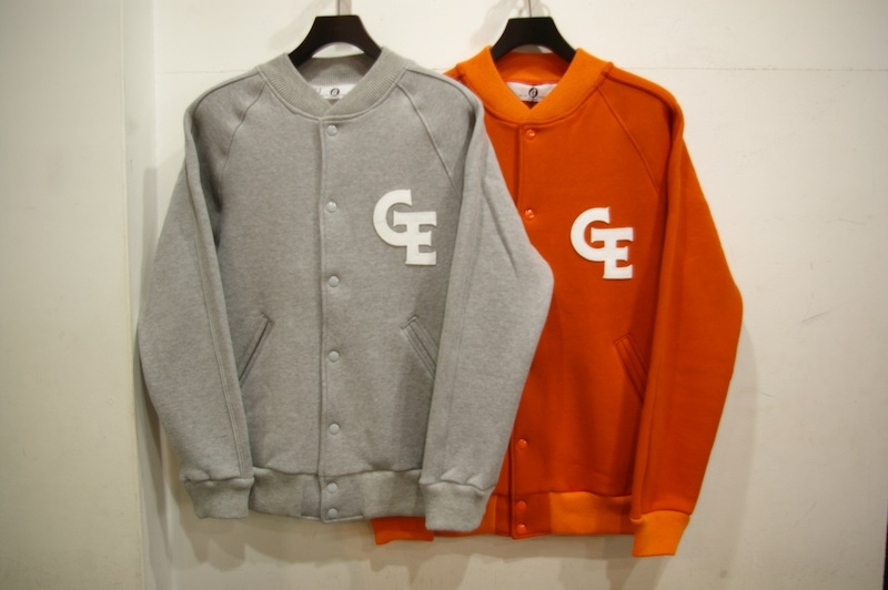 GOODENOUGH SWEAT VARSITY JACKET