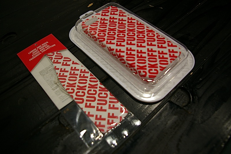 Lemon&Soda Joint Works F/O IPHONE CASE FOR IPHONE 5