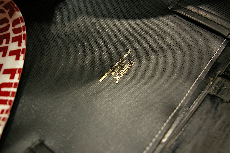 Lemon&Soda Joint Works F/O THIN HANDLE TOTE BACK BY FABRICK