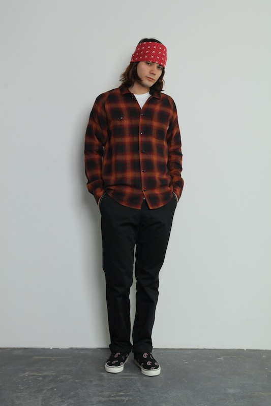 CHALLENGER L/S OLD CHECK SHIRT