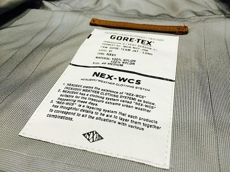 NEXUSVII GORE-TEX LONG JKT