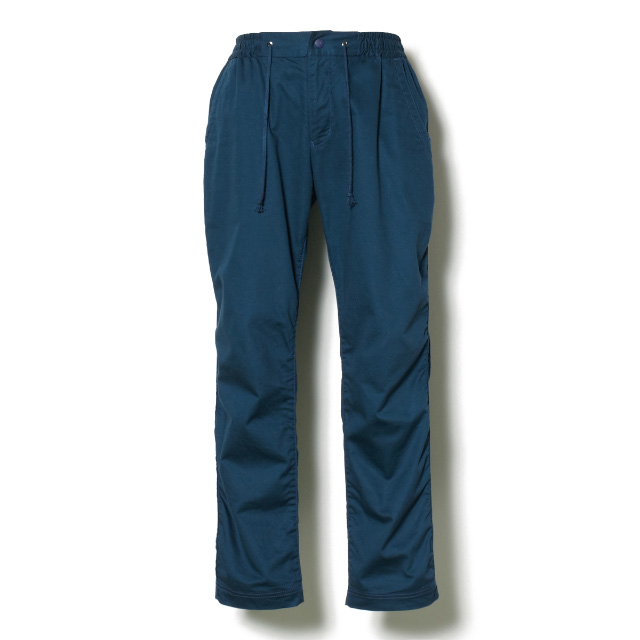 White Mountaineering COTTON LINEN RATINE STRETCH ANKLE PANTS