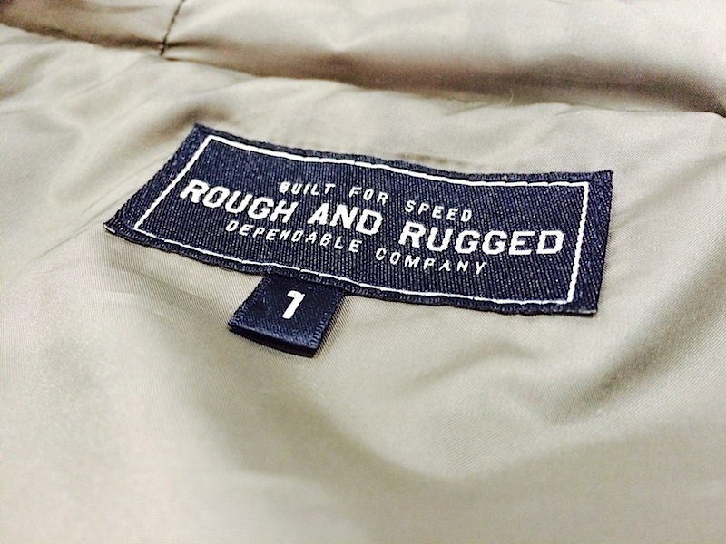 ROUGH AND RUGGED