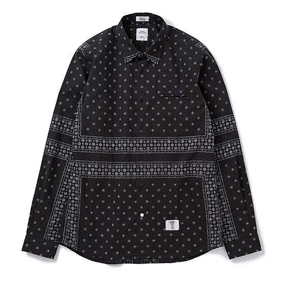 BEDWIN&THE HEARTBREAKERS L/S OG BANDANA SHIRT MONK