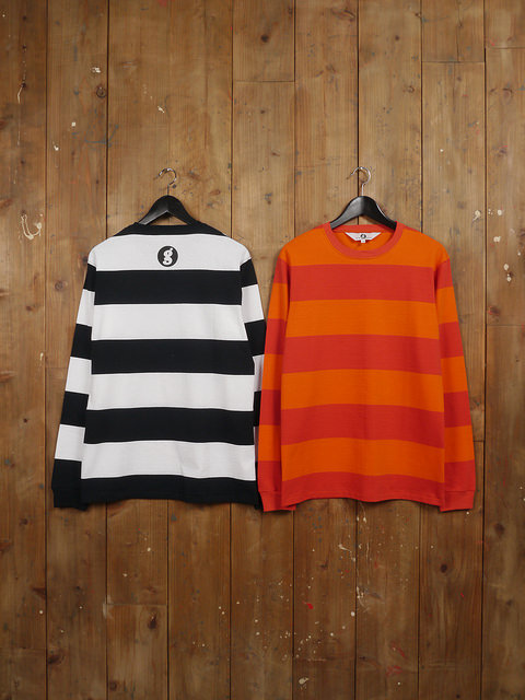 GOODENOUGH L/S BORDER SHIRT