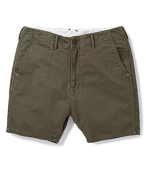 BEDWIN&THE HEARTBREAKERS 4/L MILITARY CHINO PANTS MARCY