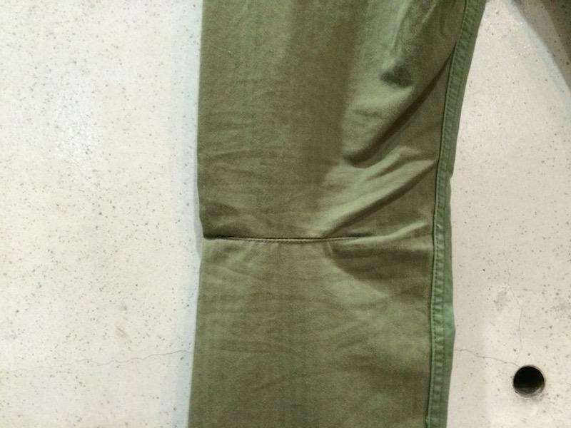 NONNATIVE FLAPH OLIVE PANTS