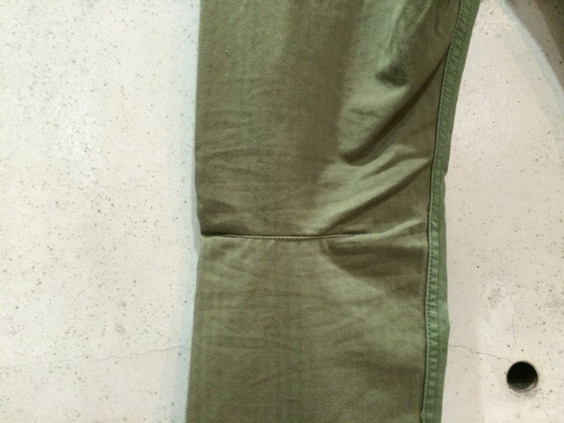 NONNATIVE FLAPH OLIVE PANTS