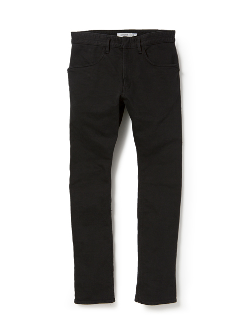 NONNATIVE DWELLER TIGHT FIT JEANS C/P KATSURAGI STRETCH OVERDYED