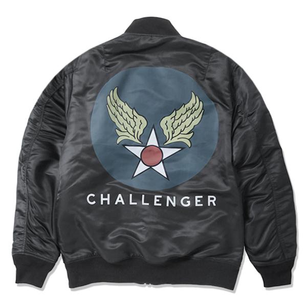 CHALLENGER MA-1 JACKET