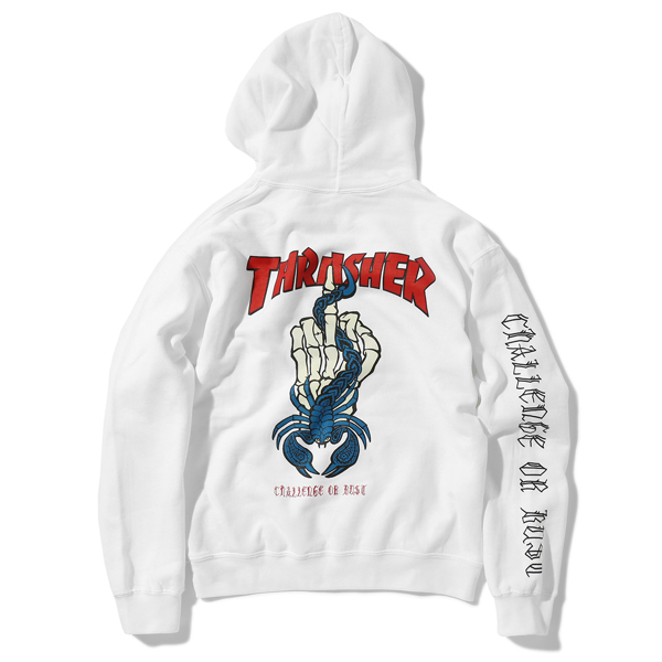 THRASHER CHALLENGER HOODED