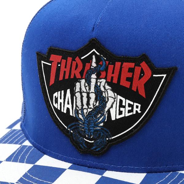 THRASHER CHALLENGER MESH CAP