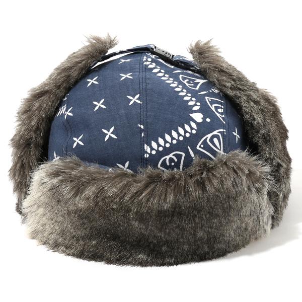 CHALLENGER BANDANNA BOMBER HAT