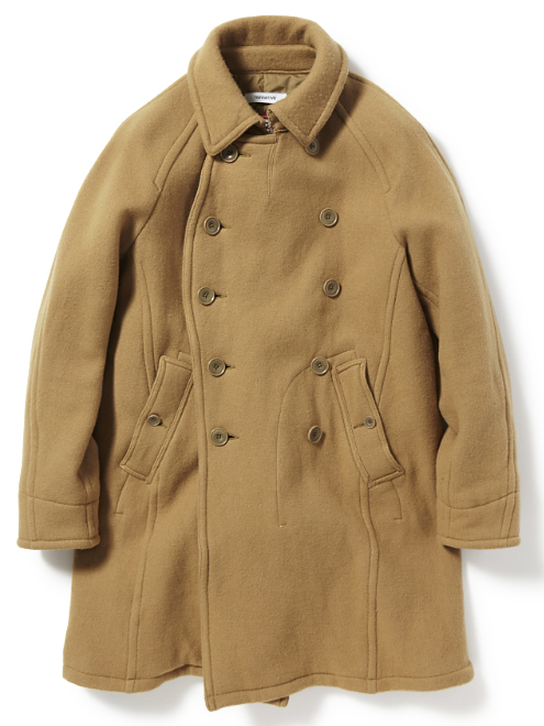 nonnative SAILER COAT WIN DOUBLE MELTON WITH WINDSTOPPER_ 2L