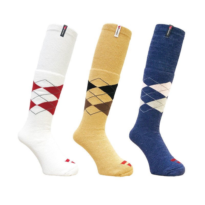 4.10-1 TUBE ARGYLE SOCKS