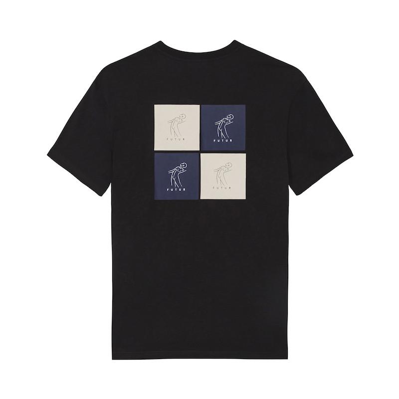 Cube Tee - Black-2