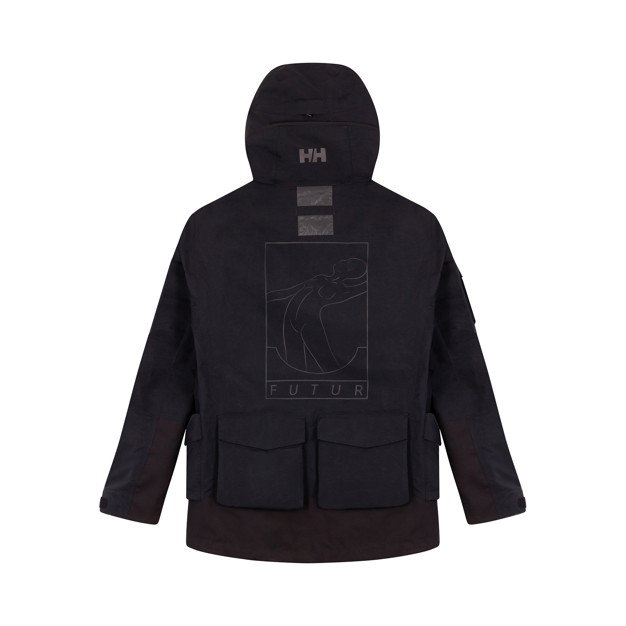 HELLY HANSEN X FUTUR - JACKET - BACK