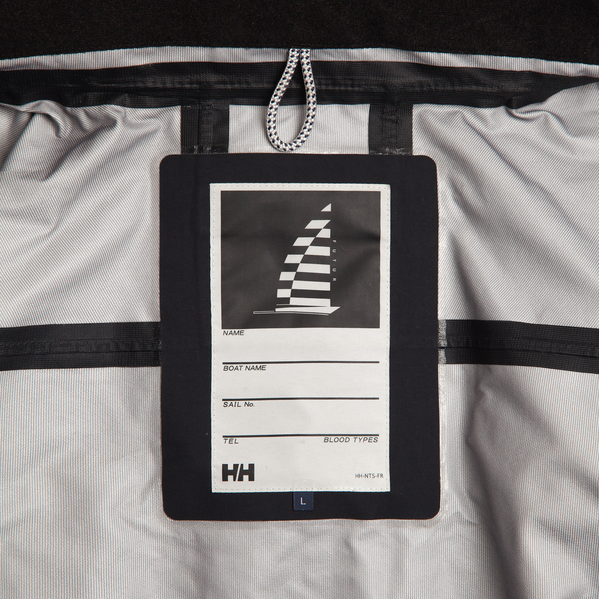 HELLY HANSEN X FUTUR - JACKET - LABEL