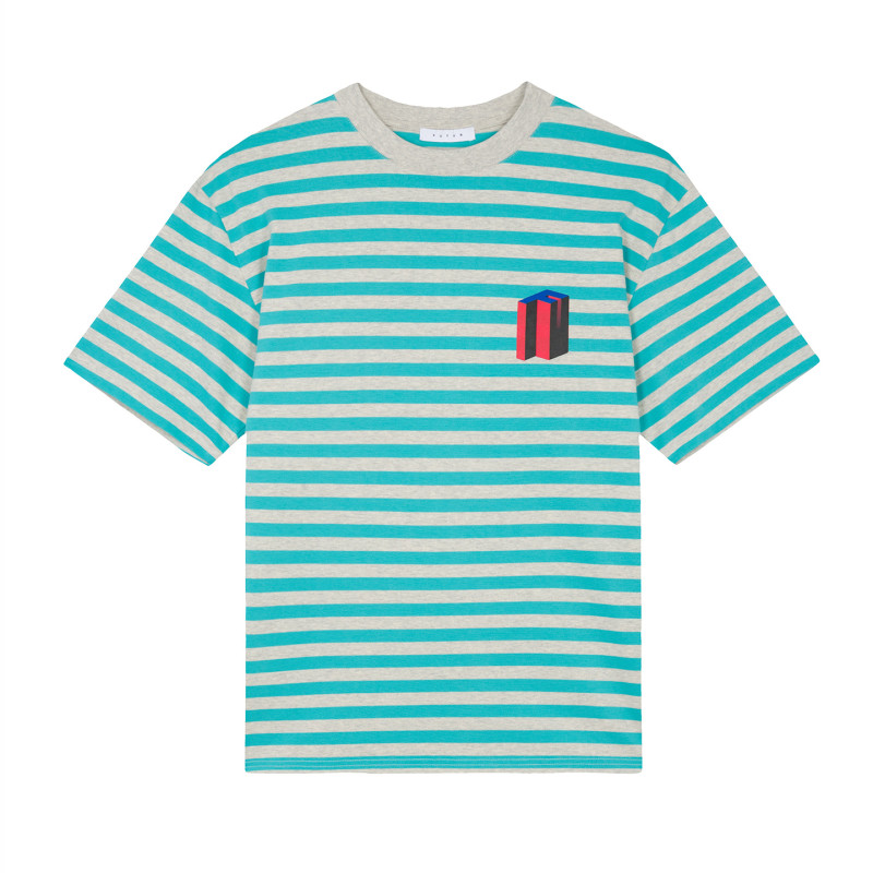 FUTUR_MW_G_FIT_3DF_STRIPED_TEE_TURQUOISE_1_FRONT