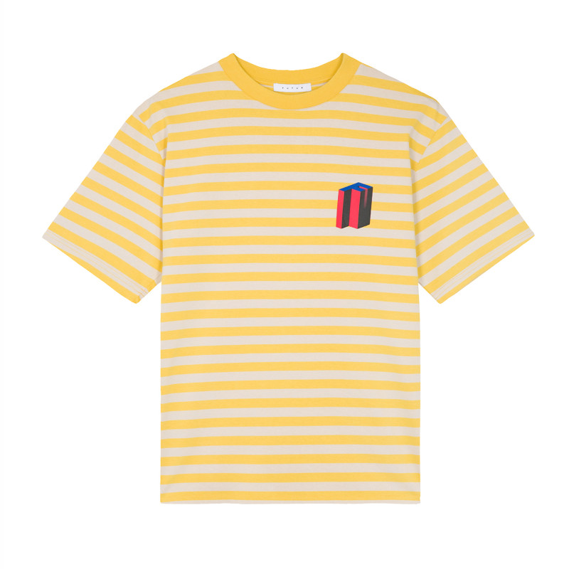 FUTUR_MW_G_FIT_3DF_STRIPED_TEE_YELLOW_1_FRONT