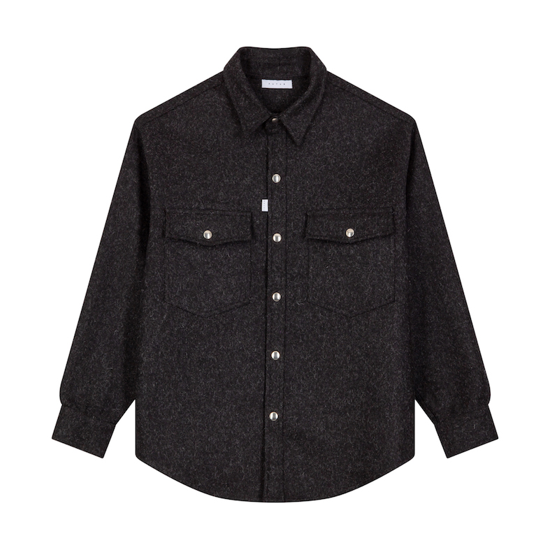 FUTUR_MOON OVERSHIRT_CHARCOAL_FRONT