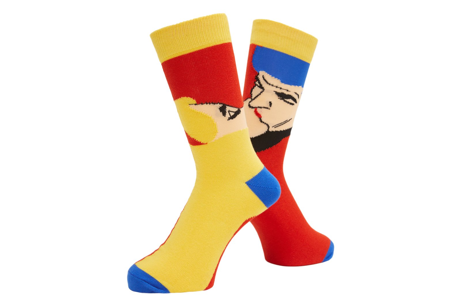 AFTERNOON DELIGHT SOCKS RED