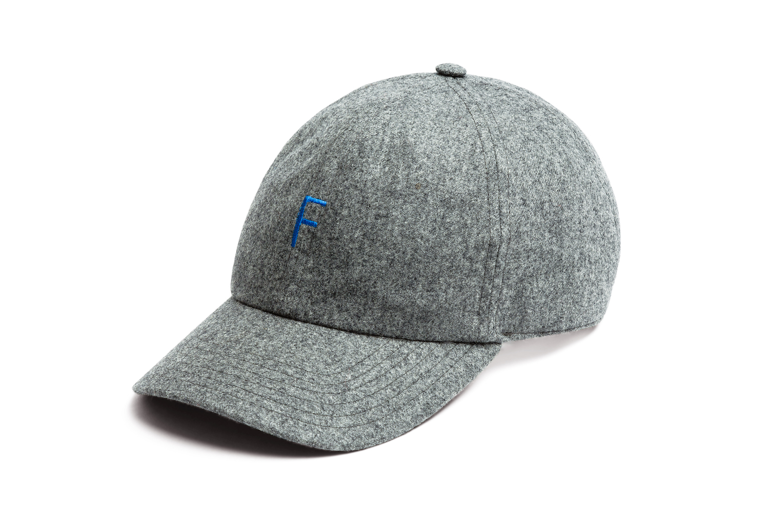 FUTUR_F CAP_HEATHER GREY_FRONT