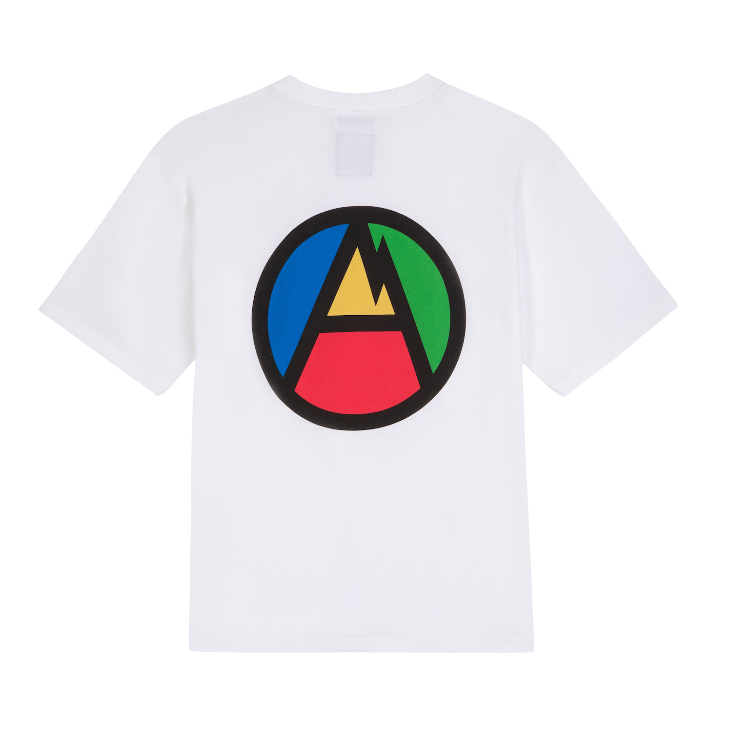 FUTUR_MW G FIT A MOUNTAIN TEE_WHITE_BACK